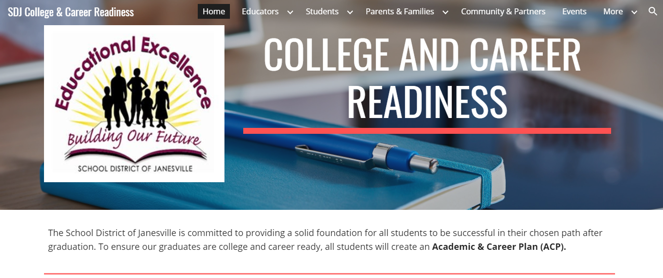 College and Career Readiness Site